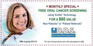 Oral Cancer Screening Coupon